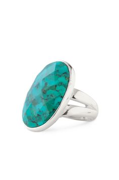 stella and dot turquoise ring