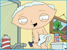 """Care to shave my coin purse, Bryan""- Stewie Griffin."