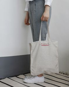 3차입고 * [ALLGRAY] LETTERS BAG - onemorebag