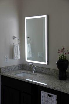 Fresh Illuminated Bathroom Mirror Cabinet