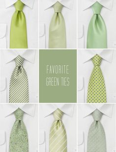 @Alia Wilson Maybe green ties would be better.  Would match all the greenery in ici's backyard.