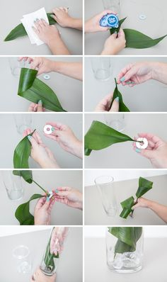 ~ Learn our awesome trick for submerging flowers and leaves in water! ~ Learn our awesome trick for submerging flowers and leaves in water! Creative Flower Arrangements, Church Flower Arrangements, Beautiful Flower Arrangements, Floral Arrangements, Flower Centerpieces, Flower Decorations, Wedding Centerpieces, Submerged Flowers, Underwater Flowers