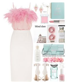 """""""Dress to Impress: Blind Date"""" by palmtreesandpompoms ❤ liked on Polyvore featuring Prada, Roland Mouret, MICHAEL Michael Kors, Cara, Gianvito Rossi, ban.do, By Terry, Culti, RMK and Très Pure"""