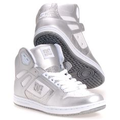 Dc Shoes Rebound Hi Women's Skate Shoes: White 8