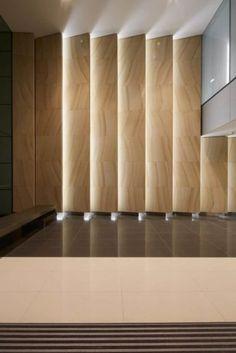Best Place to find hotel lobby design Lobby Interior, Interior Walls, Interior Lighting, Modern Interior, Lighting Design, Interior Architecture, Interior And Exterior, Kinetic Architecture, Design Entrée