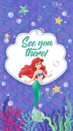 Your guests will like this Electronic Video Invitation Card mermaid ariel we personalize it for you with your data, surprise them Electronic Cards, Electronic Invitations, Digital Invitations, Invitation Cards, Party Invitations, Little Mermaid Birthday, Ariel The Little Mermaid, 4th Birthday Parties, Instagram