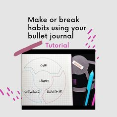Do you need to make or break some habits? Grab your bullet journal and hop over to this blog post on habit formation. #habittracking #bulletjournal Bullet Journal Health, January Bullet Journal, Bullet Journal Spread, Habit Formation, Tone It Up, Bullet Journal Inspiration, June, Mindfulness, Blog