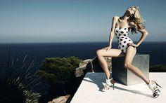 Model, fashion, lingerie, class, high