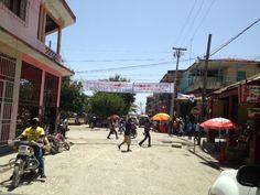 A street in Jeremie, Haiti.