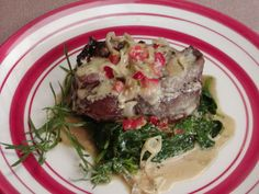 filet mignon with tarragon