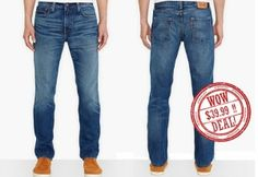 Intense distressing adds a worn-in look to these versatile, slim jeans by Levi's®.  DON'T MISS THIS OPPORTUNITY.  ORIGINAL PRICE: $58.00   PRICE: $39.99 Wow Deals, Levis 511 Slim, Slim Jeans, Carry On, Opportunity, Fitness, Pants, How To Wear, Fashion