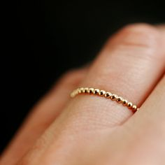 dotted 14k ring from @Clementine Cassie love.
