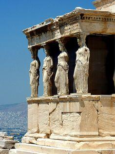H Karyatides - Athina, Ellada