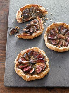Blue Cheese, Fig & Walnut Tartlets