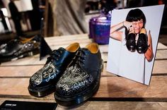 Cultivating Charity Footwear : Zouk x Dr Martens Custom 1461 Shoes