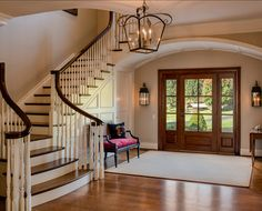 Beautiful foyer.