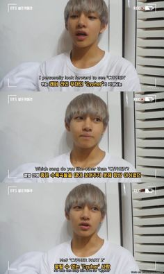 Cypher certified biggest fan, Taehyung