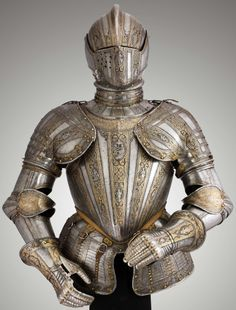 Knaben-Faltenrockharnisch, late gothic plate armour from the History museum in Vienna. Description from pinterest.com. I searched for this on bing.com/images