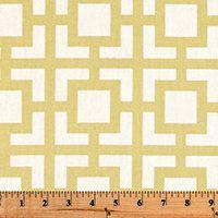 Yellow Pillow Cover - Premier Prints Gigi Saffron Macon - Custom Sizes Available - Zipper Closure