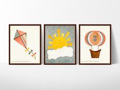 This playful, vintage-inspired series will add a touch of whimsy to any little girl's nursery or playroom.