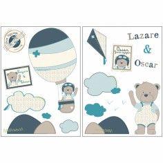 Sticker mural Lazare - Sauthon Baby Déco