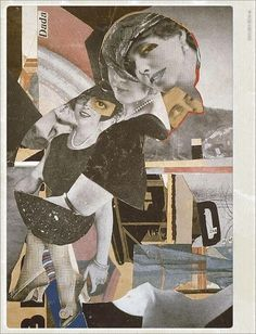 Da Dandy; Hannah Höch 1919