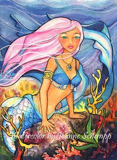 ABYSS Mermaid - Mythology Art