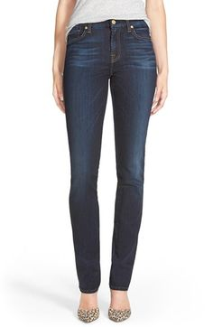 7 For All Mankind® 'Kimmie' Straight Leg Jeans (Tried and True) available at #Nordstrom