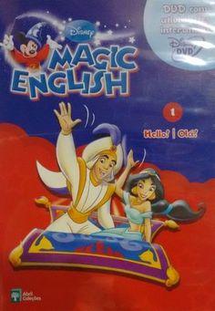Coleção Videoteka DVD\'s Disney Magic English - 26 DVD\'s