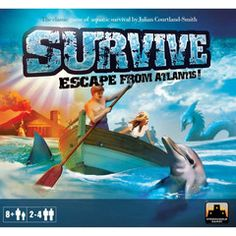 A classic game, remade and more fun then ever.  Get your people off sinking Atlantis before the volcano explodes, but avoid the sharks, whales and deadly Sea Serpents to win