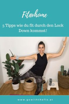 5 Tipps, wie du fit durch den Lock Down kommst - GoWithTheFlo Sport Motivation, Fitness Motivation, Fitness Workouts, Fitness Inspiration, Lettering, Pregnancy Fitness, Squats, Hotel Bedrooms, Strength Workout