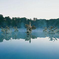 Le bassin du dragon-Versailles- Photographie Jean-Baptiste Leroux