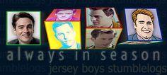 John Lloyd Young, Jersey Boys, Bergen, Baseball Cards, Mountains
