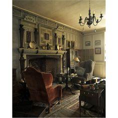 Restoration House, the Oak Saloon, Rochester, Kent, England