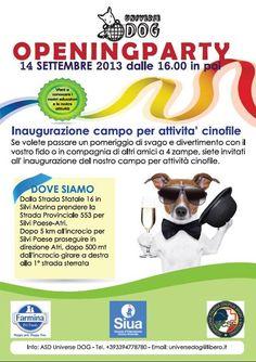 14/9 #inaugurazione campo attività #cinofile a #Pineto - #Teramo #Abruzzo @SiuaItalia