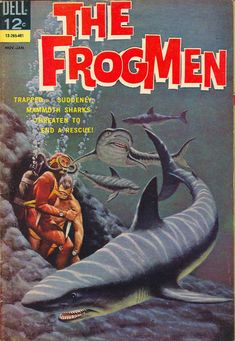 Comic Book Cover For The Frogmen #7
