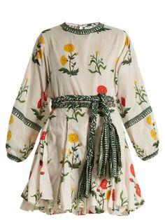 Ella floral-print cotton mini dress | Rhode Resort | MATCHESFASHION.COM UK