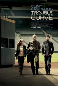 Trouble With The Curve Poster UK 01