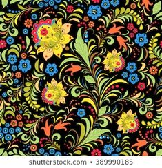 Illustration, Pattern Design, Royalty Free Stock Photos, Traditional, Floral, Artist, Flowers, Artists, Illustrations