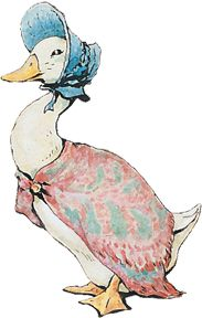 beatrix potter illustrations jemima puddle duck - Google Search