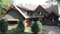 Craftsman Style House Plan - 5 Beds 3.5 Baths 3853 Sq/Ft Plan #51-574