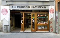 The Hacı Bekir name is known as the place wherelokum(Turkish delight) began its international journey. Ali Muhiddin Hacı Bekir Confectioners have a history that dates back to the eighteenth century. Travellers wrote about Ali Muhiddin'slokumandakide(hard candy)and brought some back to their home country. From there the legend of Turkish sweets grew.In fact it is said that Sultan Mahmud II got word (and taste) of this confectioner's product and appointed him as Imperial Chief C...