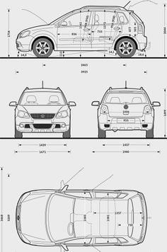 Volkswagen Touran. Altijd handig om de maten te weten