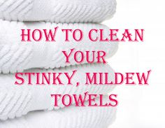 I did this last night and it worked PERFECTLY!! we have had our towels for 10 years and they were a little mildew-y and this made them smell like brand new towels  How to Clean Your Stinky Mildew Towels,  also has another link on how to clean your washer.