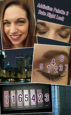 Date night with Palette 3 #younique #addiction #palette3 #eyes #eyeshadow #makeup #datenight