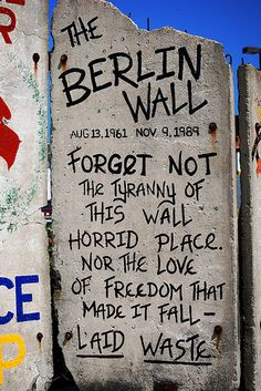 Berlin Wall (Portland Harbour, Maine)