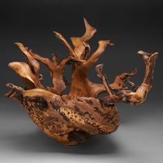 Mountain Laurel Burl Sculpture