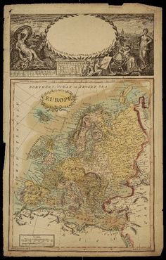 Map of Europe · 1806 · Albert and Shirley Small Special Collections Library, University of Virginia.