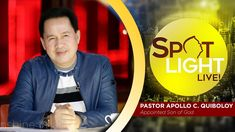 Watch another episode of Pastor Apollo C. Quiboloy's newest program, SPOTLIGHT. For your messages and queries, you can comment it down below so our Beloved P. Spiritual Enlightenment, Spirituality, Sad Crush Quotes, New Jerusalem, Kingdom Of Heaven, T Lights, New Program, Son Of God, Apollo