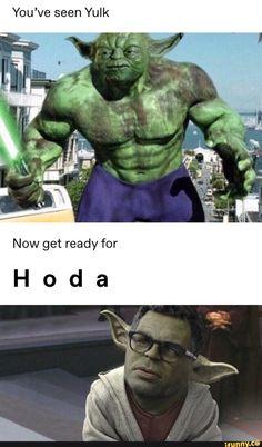 You've seen Yulk Now get ready for Hoda - iFunny :) Funny Marvel Memes, Marvel Jokes, Crazy Funny Memes, Really Funny Memes, Stupid Funny Memes, Funny Laugh, Funny Relatable Memes, Hulk Memes, Hulk Funny